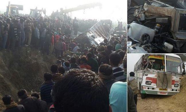 Tragikus buszbaleset: kisgyerekek vesztették életüket az ütközésben