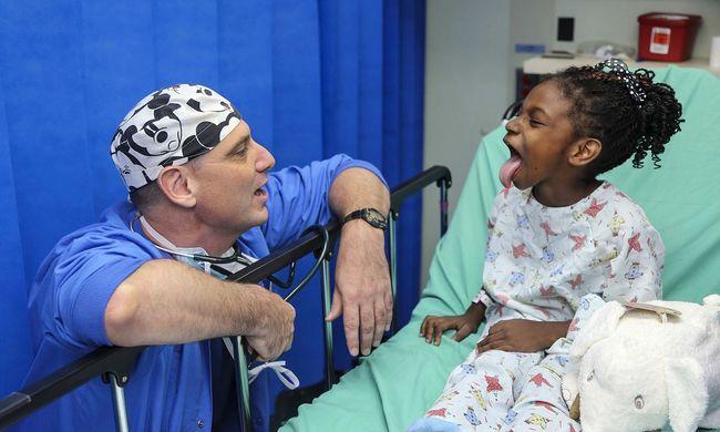 Rengeteg gyereknek lehet haszontalan a mandulaműtét