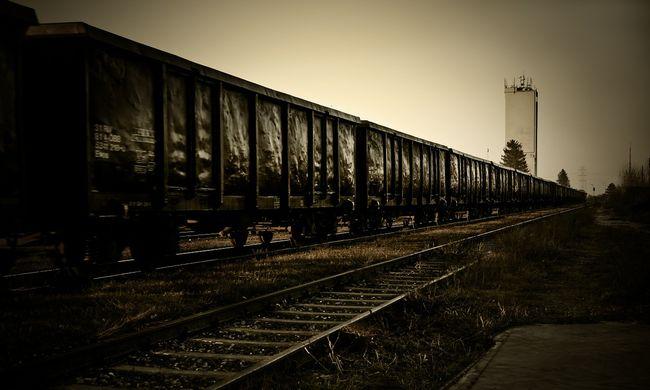 15 éves lányt sodort el a tehervonat, lezárt sorompónál akart átmenni