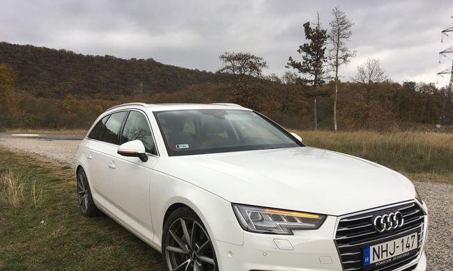 Audi A4 Avant teszt: túlzás