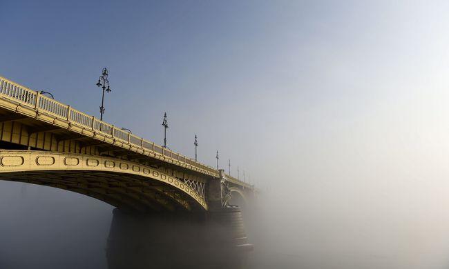 Sűrű köd miatt adtak ki riasztást, erős szélre is készülni kell