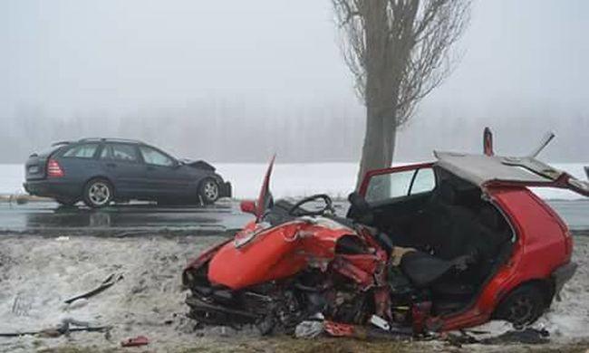Durva fotókon a három áldozatot követelő alsóberecki halálos baleset