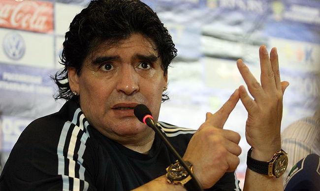 Hotelban őrjöngött Maradona, a rendőröknek kellett közbelépni