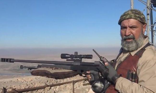 Egy 63 éves mesterlövész az Iszlám Állam legfélelmetesebb ellensége