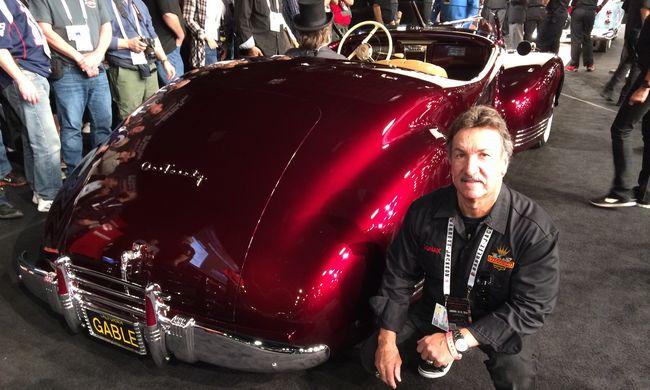 Élő amerikai autóépítő-legenda az AMTS-en!