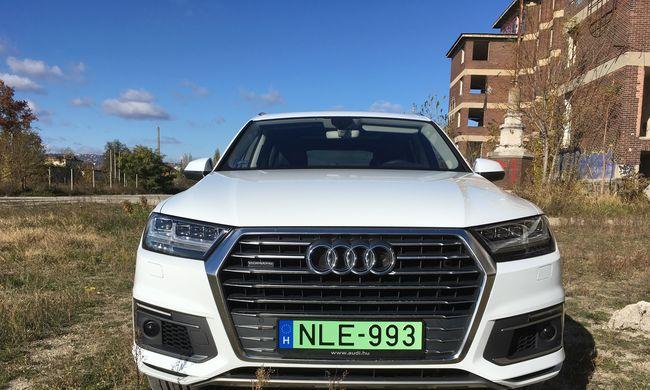 Audi Q7 e-tron teszt: villanymozdony