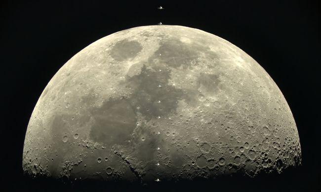 Lélegzetelállító felvételek: ilyen fotót még senki sem készített a Holdról