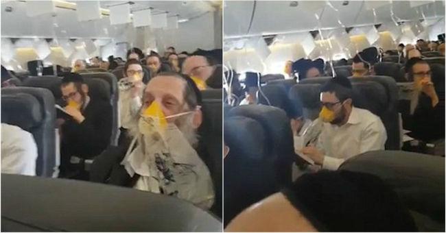 Meghibásodott a repülő, kétségbeesetten imádkoztak életükért az utasok - videó