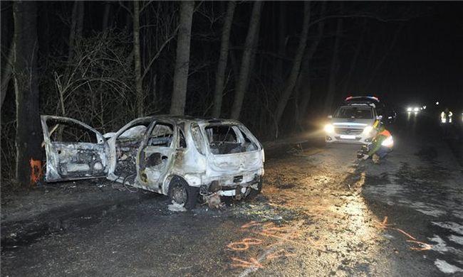Tragédia Pest megyében: szörnyethalt egy ember az úton - fotó