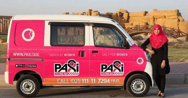 Rózsaszín taxik viszik a nőket, mert úgy biztonságosabb
