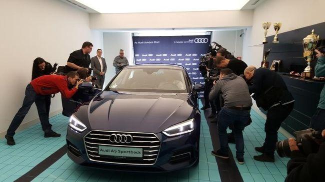 Az Audi ötödik karikája