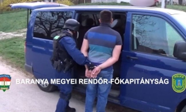 Elvetemült gyilkos bujkált Baranya megyében, ő a tettes - videó