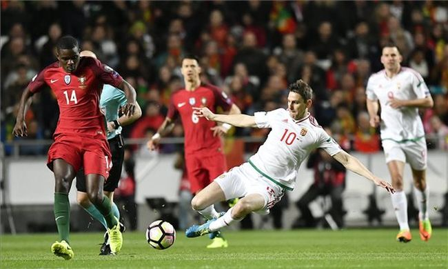 Nem sikerült megállítani a portugálokat, oda a vb?