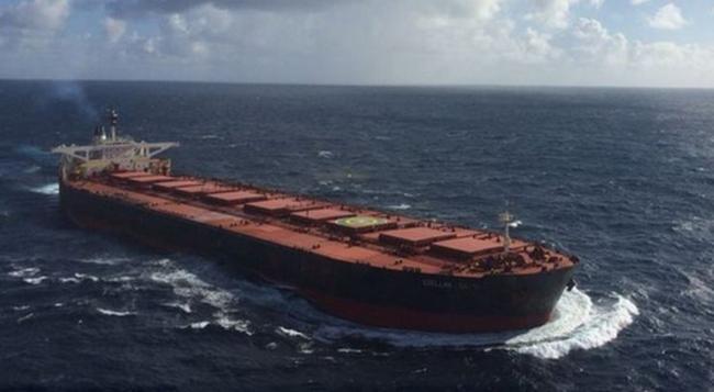 Kettétört az óceánon egy hajó, majd nyoma veszett
