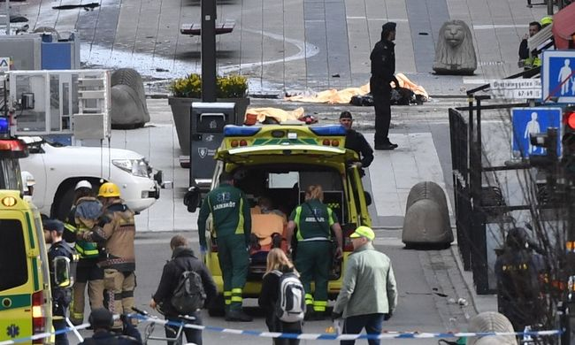 Stockholmi gázolás: beismerte tettét a terrortámadás gyanúsítottja