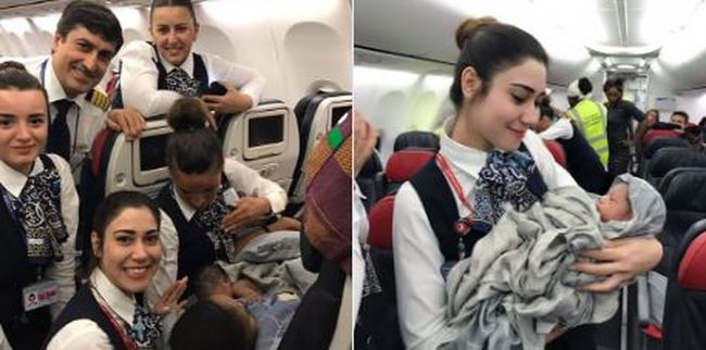 Megható fotó: zsúfolt utasszállítón szülte meg gyermekét az édesanya