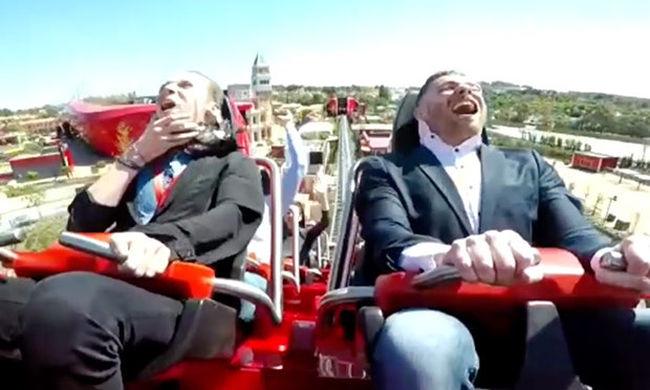 Felszállt Európa leggyorsabb hullámvasútjára, de borzalmas élményben volt része - videó