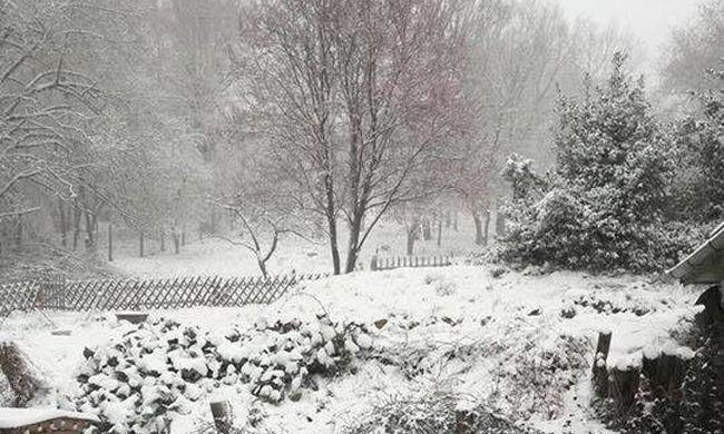 Megőrült az időjárás: hóvihar okozott fennakadást szomszédainknál