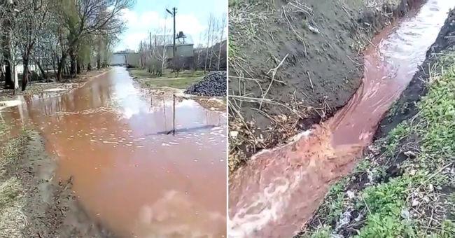 Robbanás rázta meg a kólagyárat, az utcára ömlött több ezer liter üdítő - videó