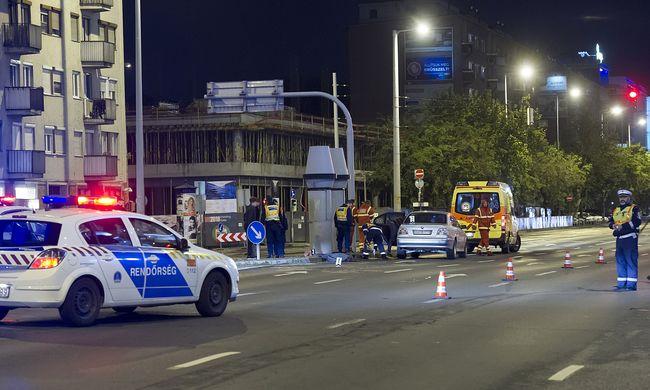 Szörnyethalt egy ember a Váci úton, már nem lehetett segíteni rajta