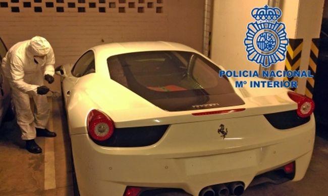 Holtából tért vissza a magyar tolvaj, hogy Ferrarikat lopjon