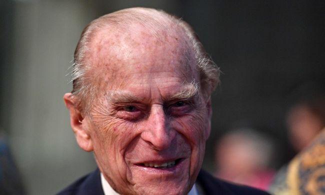 Jó hírt kapott a brit királyi család, kiengedték a herceget a kórházból
