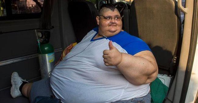 Így fogy a világ legkövérebb embere - még mindig nem tud fölkelni