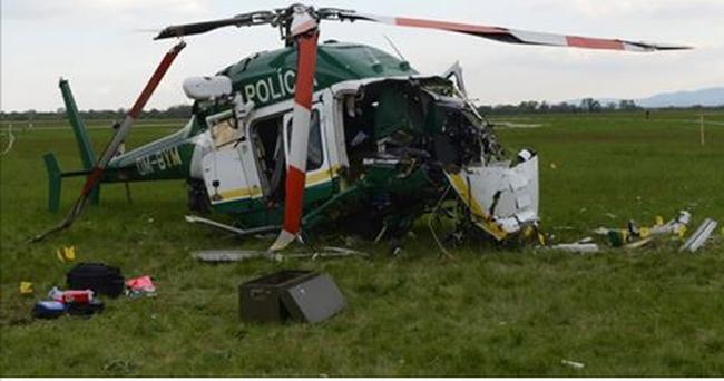 Kritikus állapotban van a lezuhant helikopter pilótája, de már beszél