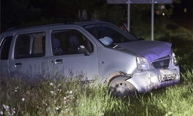 Mindent vér borít: szörnyű baleset történt Pest megyében - fotó