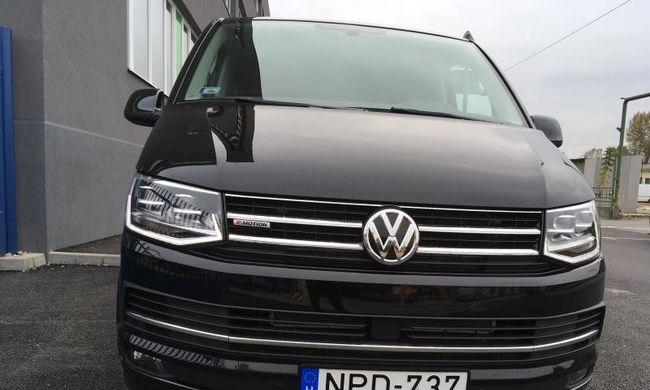 Volkswagen Transporter T6 Multivan teszt: a nagyfőnök autója
