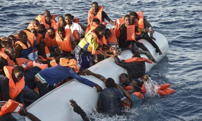 """""""Itt halunk meg!"""" - egyre jobban félnek a migránsok"""