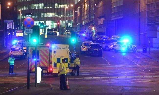 Terrortámadás történt Manchesterben, az Iszlám Állam vállalta a merényletet