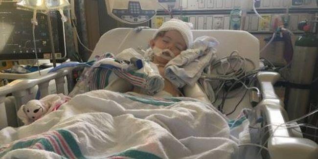 Nagy a baj: agydaganatos kislányhoz riasztottak mentőhelikoptert