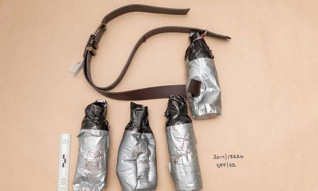 Nyilvánosságra hozta a rendőrség: ezek a bombák voltak a londoni merénylőknél