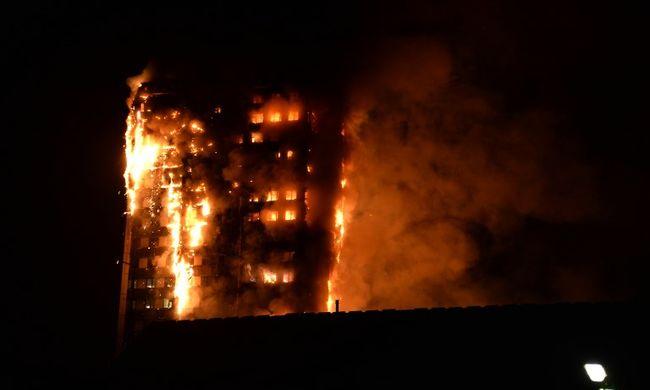Londoni tűzvész: nőtt az áldozatok száma, 79 ember vesztette életét