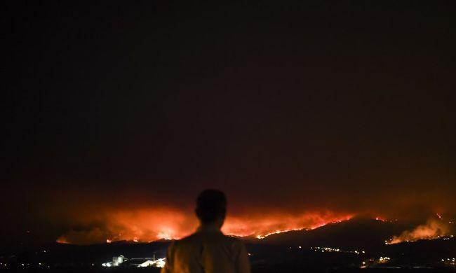 Újabb pusztító tűz szedi áldozatait, az emberek sikoltozva menekülnek