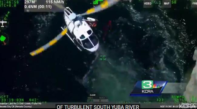 Mentőhelikoptert riasztottak: elsodorta a folyó a strandoló férfit