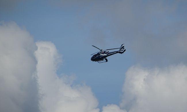 Dráma a helyszínen, mentőhelikoptert riasztottak a munkabalesethez