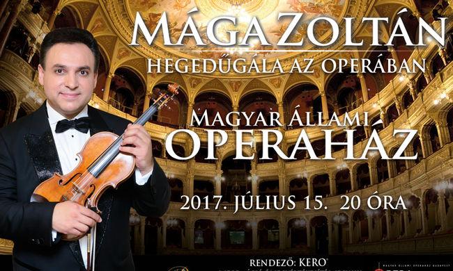 Hegedűvel a világ körül turnéja 50. állomását ünnepli Mága Zoltán