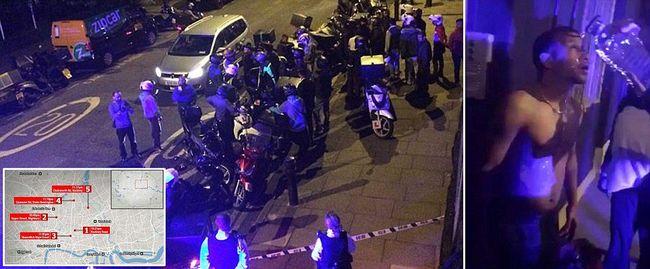 Támadás történt Londonban, savval öntötték le a járókelőket