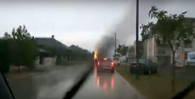 Gömbvillám csapott le Szombathelyen, nagy pusztítást végzett