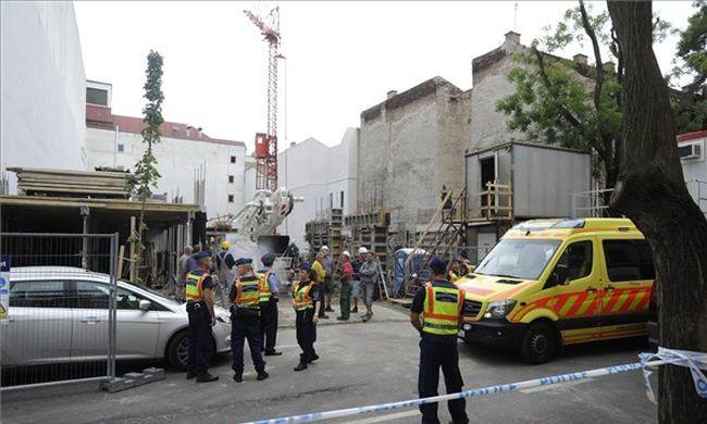 Súlyos baleset történt a XIII. kerületben, sok a sérült