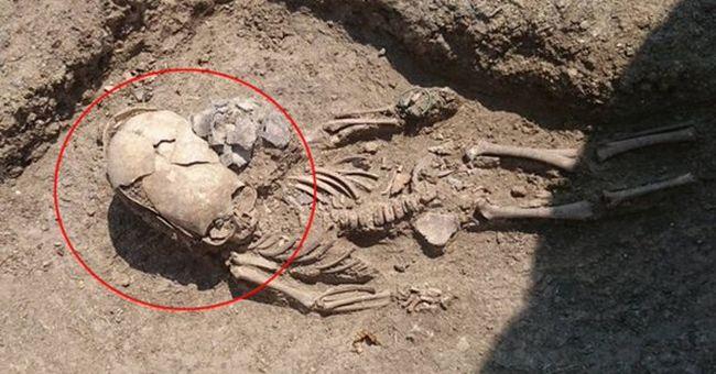 Gyermekcsontvázat találtak a falu mellett, rejtély övezi az eredetét