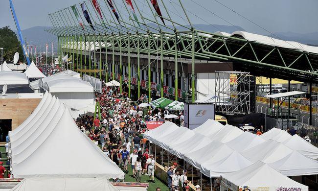 Forró Magyar Nagydíjon bizonyított a Ferrari - így ért véget a verseny