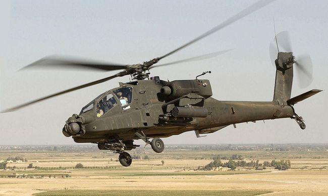 Lezuhant egy helikopter, szörnyethalt a pilóta