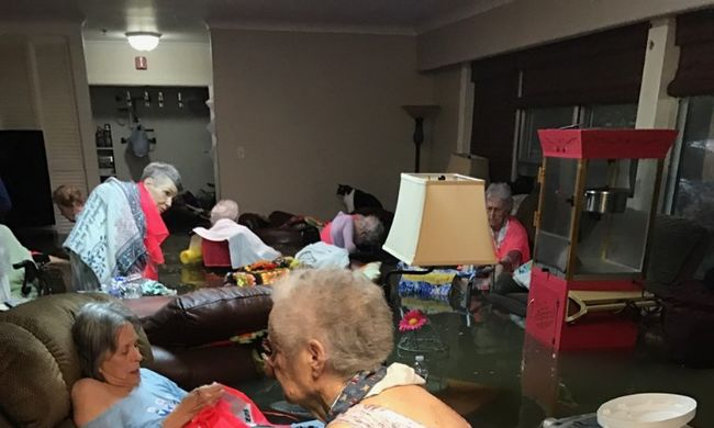 Döbbenetes kép kering az interneten a texasi katasztrófáról