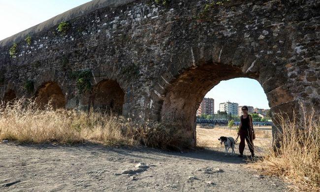 Történelmi szárazság tombol, Rómában már korlátozzák a vízfogyasztást