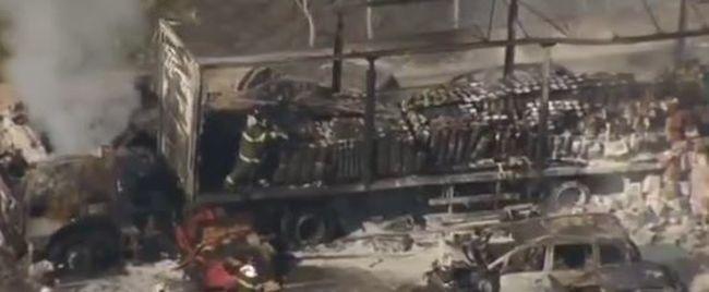 Megrázó videó: tömegkarambol történt, többen meghaltak