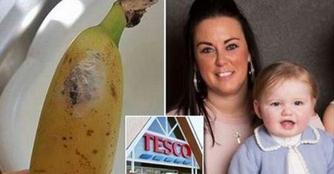 Elborzadt az édesanya: veszélyes állat petéi voltak a Tescóban vásárolt banánon