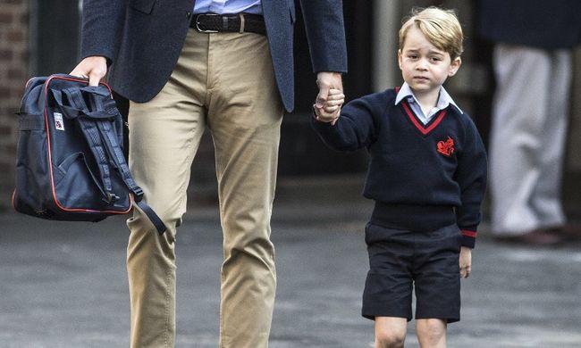 Vége a boldog napoknak: nem szereti az iskolát a kis György herceg